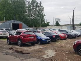 Места на парковке Стригино